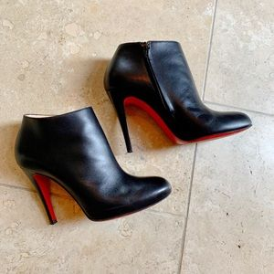 Christian Louboutin Belle 100mm Ankle Booties